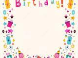 Happy Birthday Invitation Frames Happy Birthday Frame Clipart 38