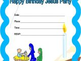 Happy Birthday Jesus Party Invitations Church House Collection Blog Printable Happy Birthday