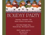 Happy Holidays Party Invitation Vintage Snowman Happy Holiday Christmas Party Personalized