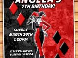 Harley Quinn Birthday Invitations 1000 Images About Suicide Squad Party Ideas On Pinterest