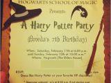 Harry Potter Birthday Invites Free Printables Free Printable Harry Potter Birthday Invitations Printable