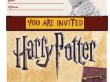 Harry Potter Birthday Invites Free Printables Harry Potter Invitations