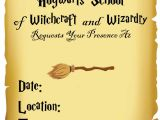 Harry Potter Party Invitation Template Diy Harry Potter Invitations Fun Money Mom