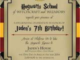 Harry Potter Party Invitation Template Harry Potter Birthday Invitation by Lifeonpurpose On Etsy