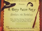 Harry Potter Party Invitation Template Harry Potter Birthday Invitations Printable Updated