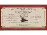 Harry Potter Party Invitation Template Hogwarts Harry Potter Printable Invitation by Catsmeowddesigns