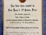 Harry Potter Party Invitation Template Puddle Wonderful Learning Harry Potter Birthday Party