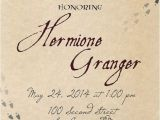 Harry Potter themed Bridal Shower Invitations Hey I Found This Really Awesome Etsy Listing at S