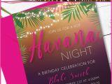 Havana Nights Party Invitation Template Havana Nights Invitation Havanaparty Havanatheme