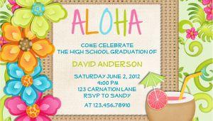 Hawaii Party Invitations 20 Luau Birthday Invitations Designs Birthday Party