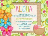 Hawaiian Party Invitation Template Luau Birthday Invitation Sweet 16 Tropical Hawaiian Hula Party