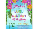 Hawaiian Party Invitations Free Printable Luau Invitation Printable or Printed with Free Shipping