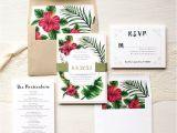 Hawaiian Wedding Invitations Styles 25 Best Ideas About Hawaiian Invitations On Pinterest