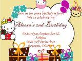 Hello Kitty 2nd Birthday Invitation Wording 30 attractive Free Hello Kitty Invitations that You Will