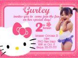Hello Kitty 2nd Birthday Invitation Wording 65 Best Hello Kitty Invitations Images On Pinterest