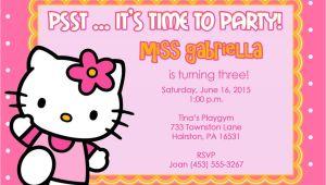 Hello Kitty Birthday Invitation Template Free 40th Birthday Ideas Hello Kitty Birthday Invitation
