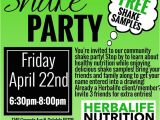 Herbalife Shake Party Invitation Template Herbalife Shake Party at Cottage Homesteads Of aspen
