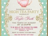 High Tea Party Invitation Wording 25 Best Ideas About High Tea Invitations On Pinterest