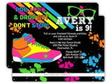 Hip Hop Dance Birthday Party Invitations 1000 Ideas About Hip Hop Party On Pinterest 80s Party