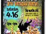 Hip Hop Party Invitations Free Graffiti 80s Old School Hip Hop Birthday Invitations Di