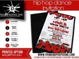 Hip Hop Party Invitations Free Hip Hop Dance Party Invitations Graffiti Invitation