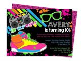 Hip Hop Party Invitations Free Hip Hop Invitation Hip Hop Party Dance Invitation Dance