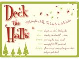 Holiday Party Invitation Examples Party Invitations Christmas Party Invitation Template