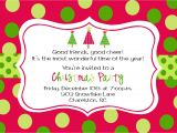 Holiday Party Invitation Template Christmas Party Invitations