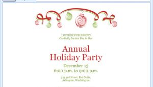 Holiday Party Invitation Template Email Download Free Printable Invitations Of E Mail Message