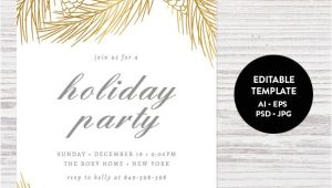 Holiday Party Invitation Template Holiday Party Invitation Template Invitation Templates
