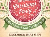 Holiday Party Invitation Template Word Christmas Party Invitations Free Templates Word