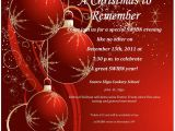 Holiday Party Invitation Template Word Word Christmas Party Invitation Template