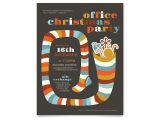 Holiday Party Invitation Templates Publisher Christmas Party Flyer Template Word Publisher
