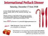 Holiday Potluck Party Invitation Wording Potluck Invitation Wording Samples