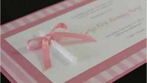 Homemade 1st Birthday Invitation Ideas Diy One Candle Homemade 1st Birthday Invitation
