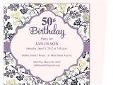 Homemade 50th Birthday Invitation Ideas 50th Birthday Invitation Template Oxsvitation Com