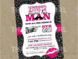 Homemade Bachelorette Party Invitations Bachelorette Party Invitations Diy Digital File U Print