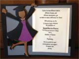 Homemade Graduation Invitations Handmade Custom Graduation Invitation or Announcement