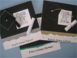 Homemade Graduation Invitations Maria 39 S Paper Gift Exchange Graduation Announcements