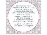 Honeymoon Bridal Shower Invitation Wording Invitation Wording Honeymoon Registry Gallery Invitation