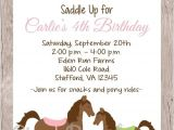 Horse themed Party Invitations 25 Best Ideas About Horse Birthday Parties On Pinterest