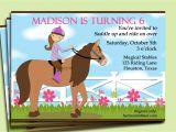 Horseback Riding Birthday Party Invitations Free Printable Horse Party Invitation