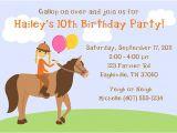 Horseback Riding Birthday Party Invitations Horseback Riding Birthday Party Invitations Horse Pony