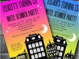 Hotel Party Invitation Template Hotel Birthday Invitation Hotel Slumber Party Invitation