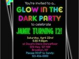 How to Make Glow In the Dark Party Invitations How to Make Glow In the Dark Party Invitations Cobypic Com
