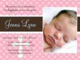 How to Write A Baptism Invitation Baby Baptism Invitations Baby Christening Invitations