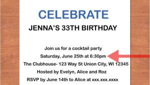 How to Write An Invitation to A Party How to Write An Invitation to A Party Cimvitation