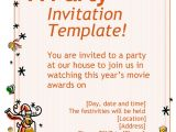 How to Write An Invitation to A Party How to Write An Invitation to A Party Invitation Template