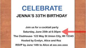 How to Write Invitation for Birthday Party How to Write A Birthday Invitation 14 Steps with Pictures