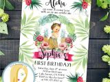 Hula Birthday Party Invitations Hula Birthday Party Invitation Hula Invitation Luau